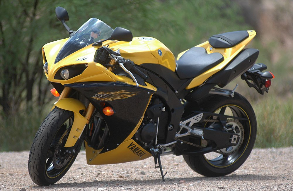 My 2009 Yamaha R1 sport bike
